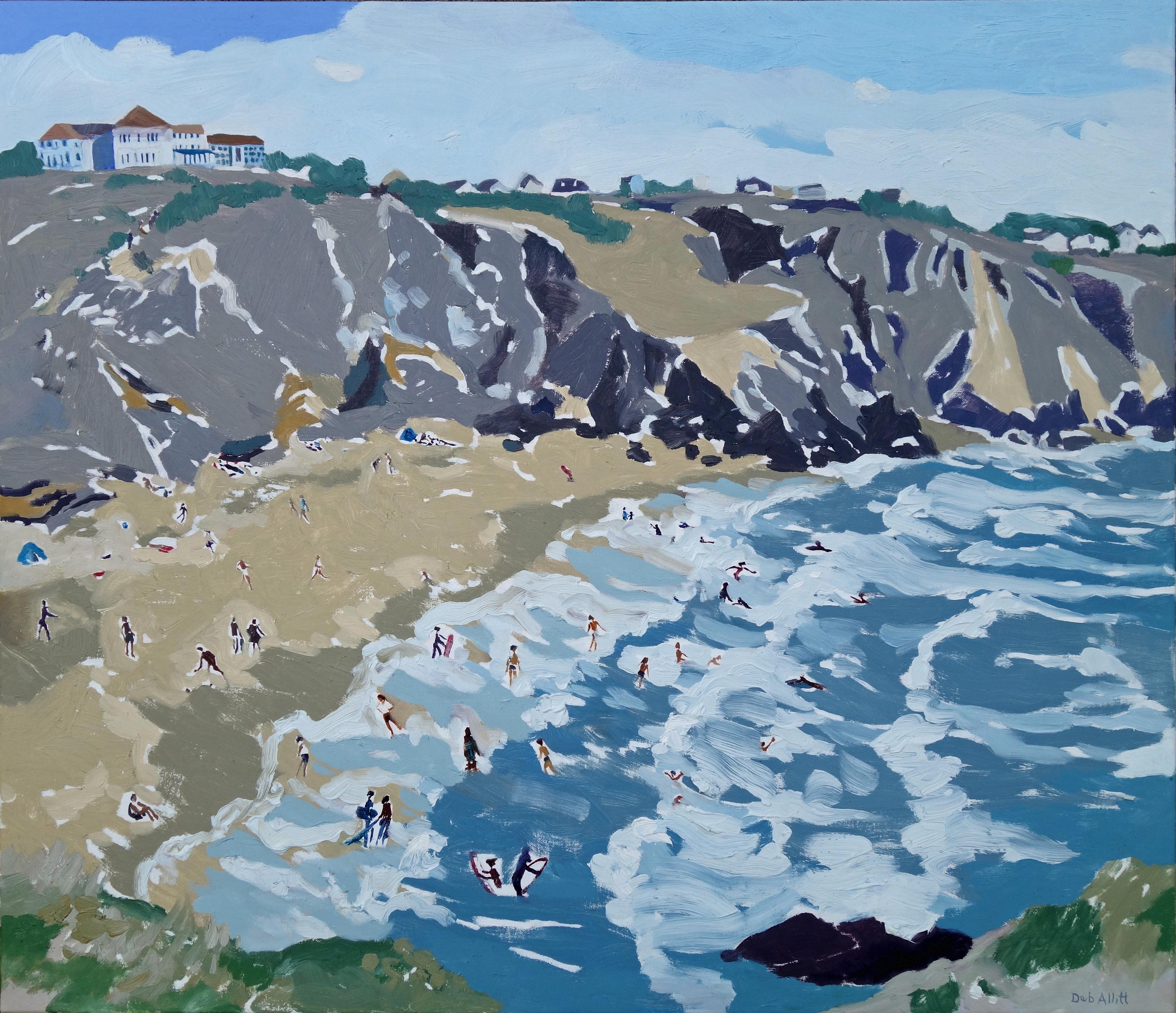 Polurrian Cove. Oil on canvas. 60 x 70 cm.